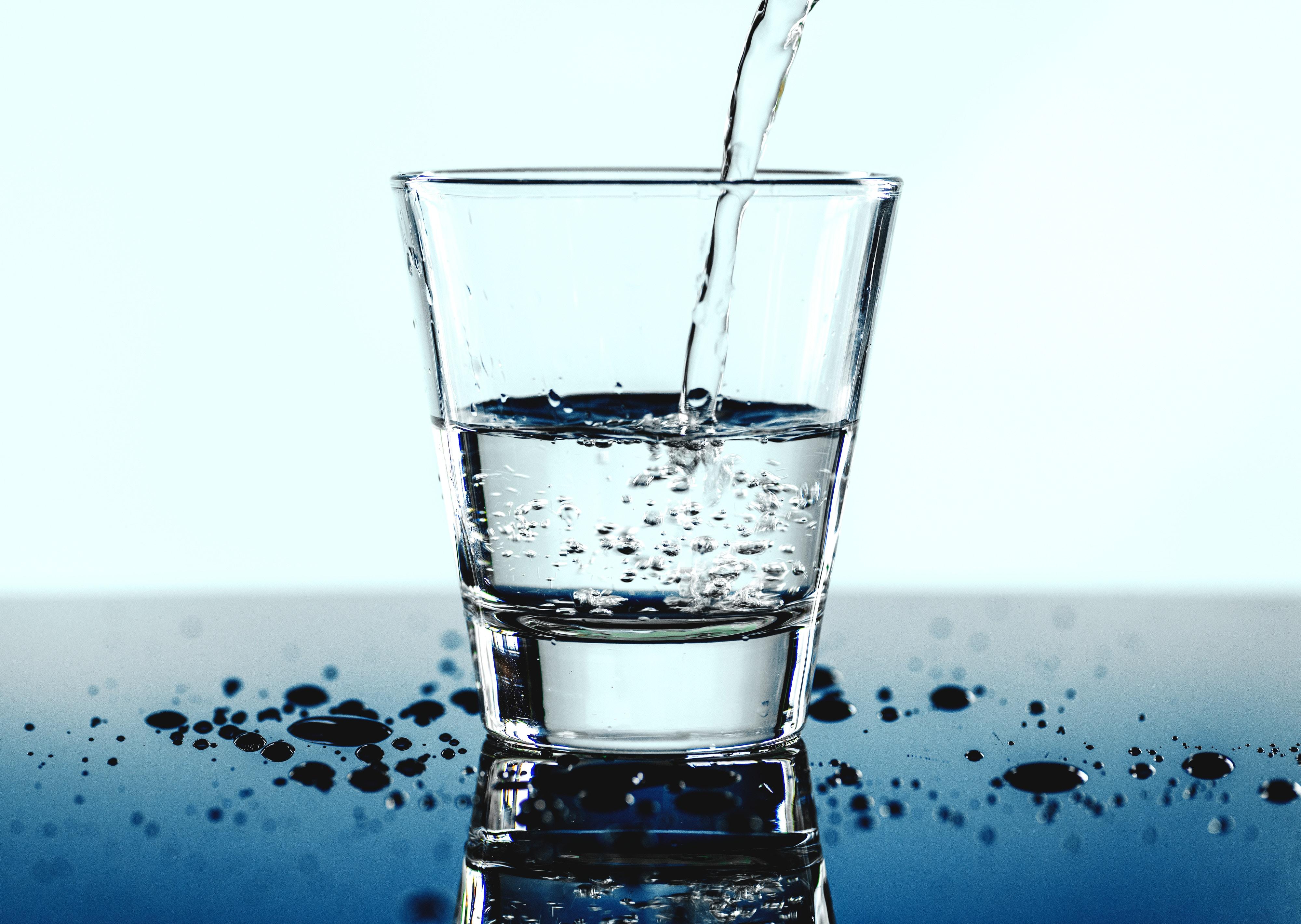水について